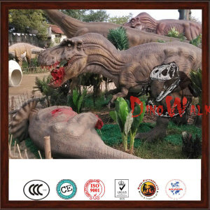 Outdoor Animatronic Artificial Real Dinosaur Games
