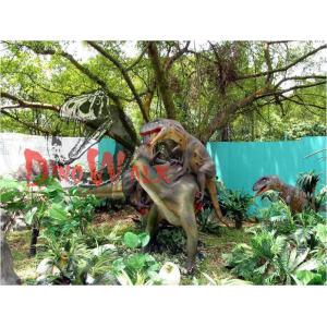Electric Jurassic Park Simulation Dinosaur Game Model