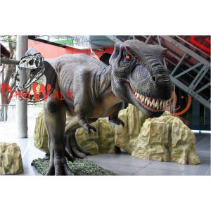 Children Amusement Park Animatronic Dinosaur T-Rex Model