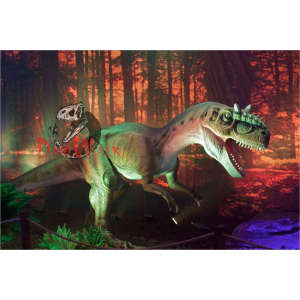 Adventure Playground Animatronic Dinosaur Model