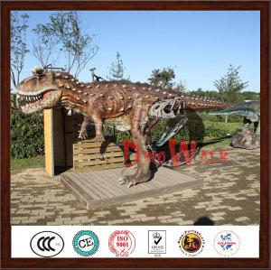 Amusement Park Life Size Professional Animatronic Dinosaur Making