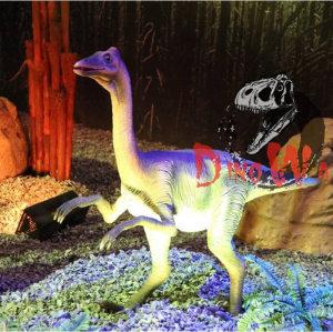 Attractive life size animated robotic dinosaur