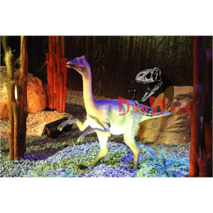 Attractive life size animated robotic dinosaur