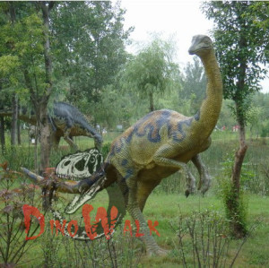 Jurrasic park movie prop realistic robotic dinosaur