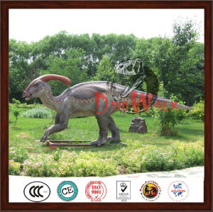 2017 customized vivid dinosaur statue for jurrasic park
