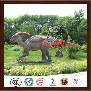 2017 customized vivid dinosaur statue for jurrasic park