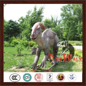 Theme park vivid customized life size dinosaur