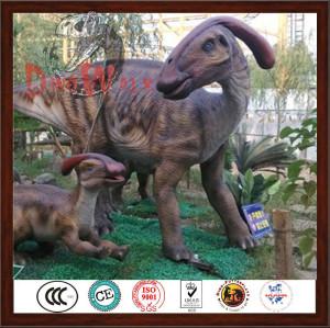 Life size model handcraft foam realistic dinosaur