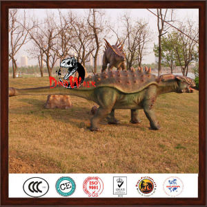 Attractive realistic artificial garden decoration dinosaur