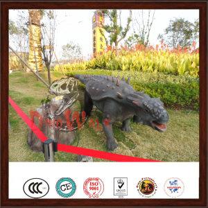 Theme park amazing artificial live dinosaur