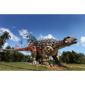Decoration artificial dinosaur theme park equipment