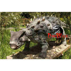 Theme park exhibition robotic dinosaur 3D model