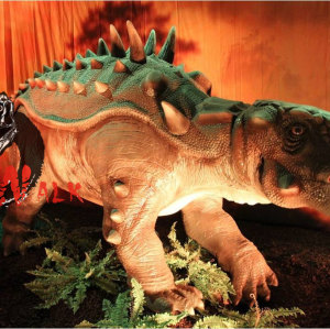 Amusement park animatronic dinosaur game show equipmnt