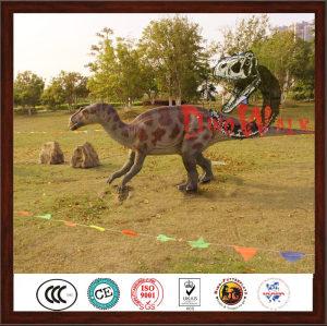 Jurrasic customized life size dinosaur robot statue
