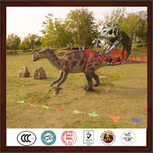 Jurrasic customized life size dinosaur robot statue
