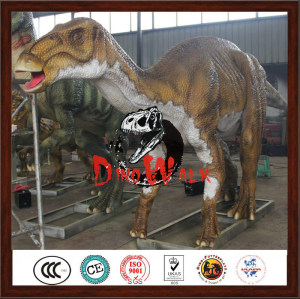 Festival decoration aniamted 3D robotic jurrasic dinosaur