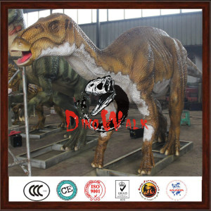 Festival decoration aniamted 3D robotic jurrasic dinosaur