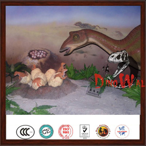 Kids attraction popular animated artificial theme park exhibition dinosaur