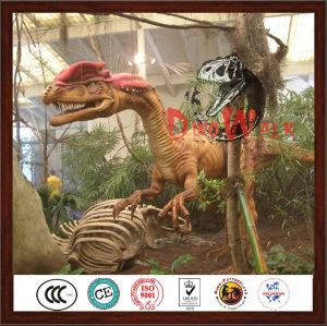 Life Like Robotic Amusement Park Decoration Dinosaur