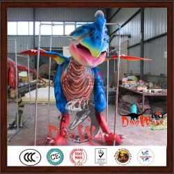Alta calidad disfraz de dragón para exposiciones