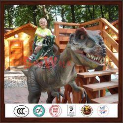 jurassic passeio para decorações de dinossauro vivo