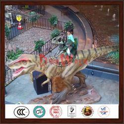 dinossauro passeio de diversões