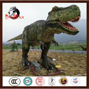 Life-size Robotic Dinosaur in Theme Park
