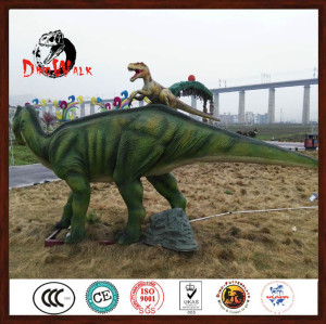 Amusement park artificial dinosaur model