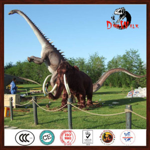 huge dinosaur statues model