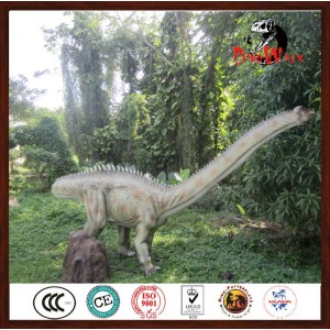 High Simulation Mechanical Dinosaur Park Diplodocus Model For Sale