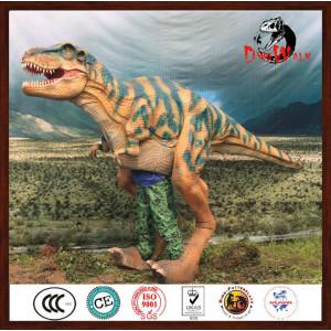 walking with dinosaur costume