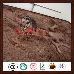 indoor playground life size dinosaur skeleton excavation