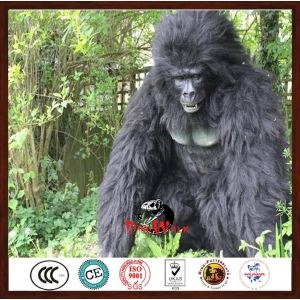 hot sale & high quality highly detailed animatronic gorilla costume with best and low price