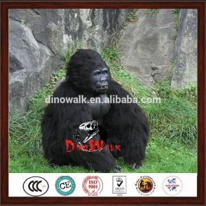 hot sale Realistic walking animatronic gorilla costume