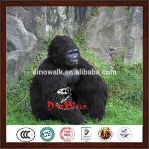 hot sale Realistic walking animatronic gorilla costume