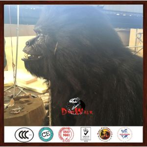 shopping mall realistic adult walking animatronic gorilla costume