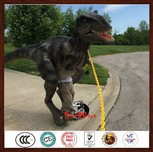New design robotic dinosaur costume ( Raptor ) with high quality