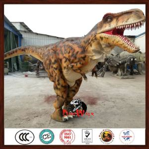 VR entertainment park equipment artificial dinosaur costume mascot With Good Service