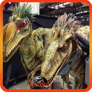 Entertainment equipment life size dinosaur costume cheap for wholesale