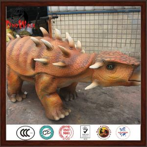 good quality mechanical dinosaur walking rides for kids with certificate