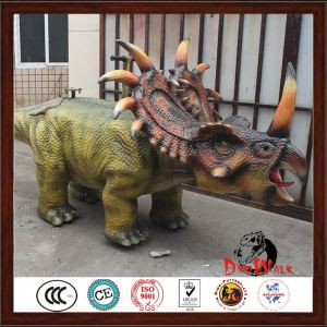 Best quality promotional theme park artificial dinosaur rides manufactured in China