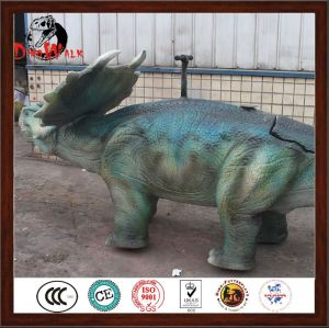 2017 New animal artificial walking dinosaur ride with good price
