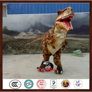 Manufacturer Supplier hidden legs dinosaur suit with CE certificate