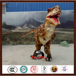 Manufacturer Supplier hidden legs dinosaur suit with CE certificate