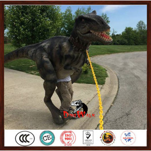 Hot sale factory direct price lightweight animatronic dinosaur costume