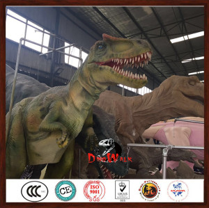 Hot selling dinosaur costume walking with dinosaurs long service life