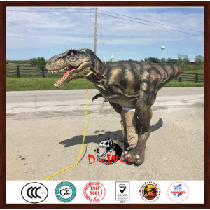 Adult Animatronic Velociraptor Dinosaur Costume For Sale