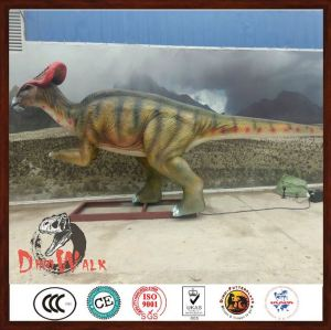 Life Size Inflatable Dinosaur Puppet in shopping mall for children