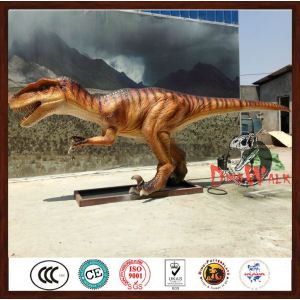 Park Games Big Animatronic Walking Dinosaurs Statue