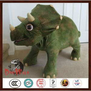 Kids Ride Animatronic toy dinosaur car for sale